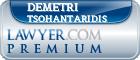 Demetri Tsohantaridis  Lawyer Badge