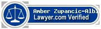 Amber Zupancic-Albin  Lawyer Badge