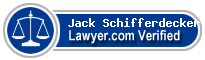 Jack W Schifferdecker  Lawyer Badge