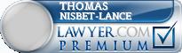 Thomas W Nisbet-Lance  Lawyer Badge