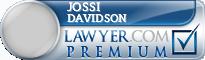 Jossi K Davidson  Lawyer Badge