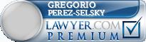 Gregorio Aron Perez-Selsky  Lawyer Badge