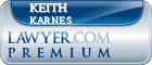 Keith D Karnes  Lawyer Badge