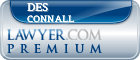 Des Connall  Lawyer Badge