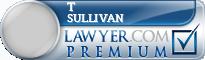 T Conor Sullivan  Lawyer Badge
