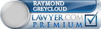 Raymond W Greycloud  Lawyer Badge