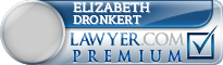 Elizabeth M. Dronkert  Lawyer Badge