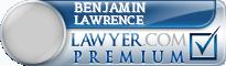Benjamin F Lawrence  Lawyer Badge