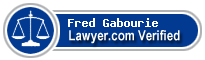 Fred William Gabourie  Lawyer Badge