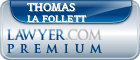 Thomas La Follett  Lawyer Badge
