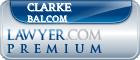 Clarke Balcom  Lawyer Badge