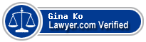 Gina Ko  Lawyer Badge