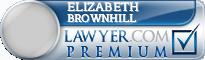 Elizabeth J Brownhill  Lawyer Badge