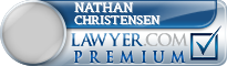 Nathan R Christensen  Lawyer Badge