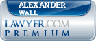 Alexander James Wall  Lawyer Badge