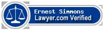 Ernest J Simmons  Lawyer Badge