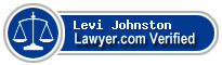 Levi S Gatov Johnston  Lawyer Badge