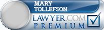 Mary Elizabeth Tollefson  Lawyer Badge