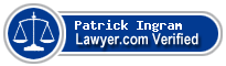 Patrick Edward Ingram  Lawyer Badge