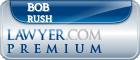 Bob Rush  Lawyer Badge
