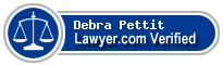 Debra Ellen Rectenbaugh Pettit  Lawyer Badge