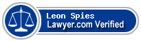 Leon Fred Spies  Lawyer Badge