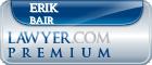 Erik David Bair  Lawyer Badge