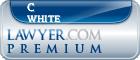 C Casey White  Lawyer Badge