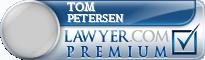 Tom Petersen  Lawyer Badge
