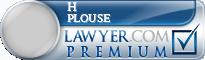 H Scott Plouse  Lawyer Badge