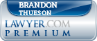 Brandon S Thueson  Lawyer Badge