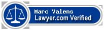 Marc Valens  Lawyer Badge
