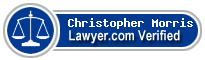 Christopher Morris  Lawyer Badge
