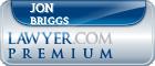 Jon D Briggs  Lawyer Badge