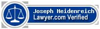 Joseph John Heidenreich  Lawyer Badge