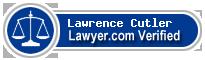 Lawrence Benjamin Cutler  Lawyer Badge