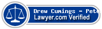 Drew A Cumings - Peterson  Lawyer Badge
