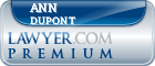 Ann S Dupont  Lawyer Badge