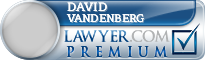 David M Vandenberg  Lawyer Badge