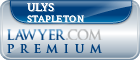 Ulys J Stapleton  Lawyer Badge