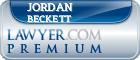 Jordan Beckett  Lawyer Badge