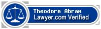 Theodore D Abram  Lawyer Badge