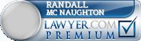 Randall Lee Mc Naughton  Lawyer Badge