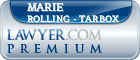 Marie R. Rolling - Tarbox  Lawyer Badge