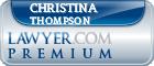 Christina I Thompson  Lawyer Badge
