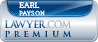 Earl A. Payson  Lawyer Badge