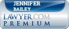 Jennifer Slocum Bailey  Lawyer Badge