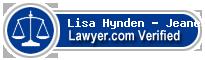 Lisa Jo Hynden - Jeanes  Lawyer Badge