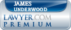 James Ronald Underwood  Lawyer Badge