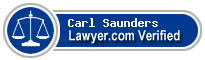 Carl A. Saunders  Lawyer Badge